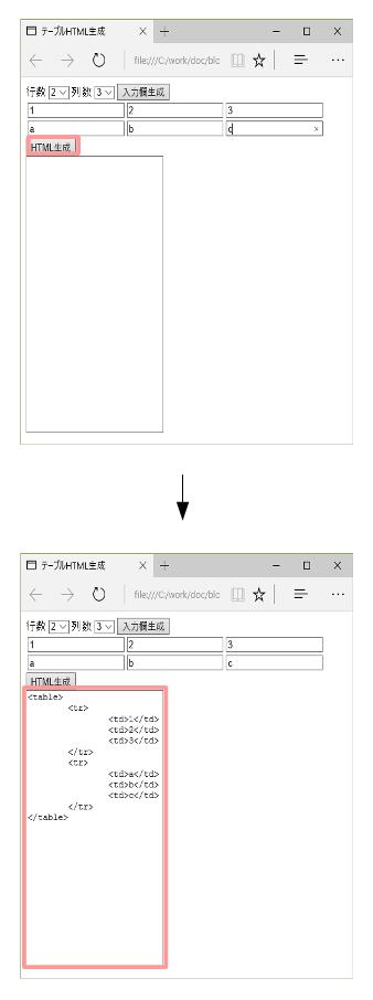 table生成2